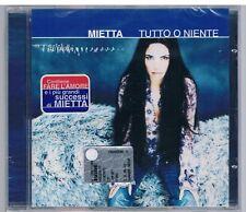 MIETTA TUTTO O NIENTE CD F.C. SIGILLATO!!!