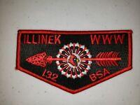 Boy Scout OA Lodge 132 Illinek S12 Flap