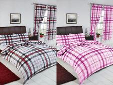 Linge de lit et ensembles rose à motif Carreaux pour chambre