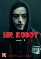 Mr. Robot: Season_2.0 DVD (2017) Rami Malek cert 18 4 discs ***NEW***
