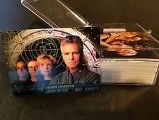 Stargate SG-1 Season 1 #1-72 Complete Set : 2001 Rittenhouse