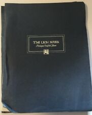 Vtg Feb 1976 The Lion Mark Antique English Silver Reproductions Catalog