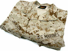 USMC Bond It Insect Guard Blouse Desert MARPAT Camouflage MCCUU Size MED-LONG