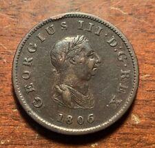 1806 United Kingdom half penny
