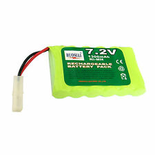 1 pcs 7.2V 1300mAh Ni-MH Rechargeable Battery Cell Pack Toy RC