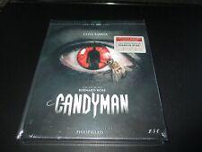 "MEDIABOOK BLU-RAY + DVD NEUF ""CANDYMAN"" Virginia MADSEN / Bernard ROSE - horreur"
