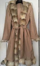 Winter Fox trim coat