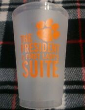 Clemson Collectible Cup The President & Fist Lady's Suite Tiger Paw Free S&H