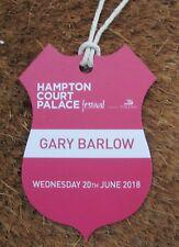 GARY BARLOW HAMPTON COURT MUSIC FESTIVAL HOSPITALITY PASS