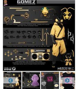 Mezco One 12 Gomez: Clan of the Golden Dragon Complete Figure Brand New