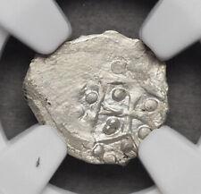 LITHUANIA, Vladimiras Algirdas, Grand Prince of Kiev, 1362-94, Denar, NGC MS60