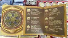 Thai Royal Proof Mint Finland Nordic gold 6 Coin Commemorative Set King 9 Unc ix
