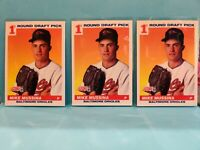 1991 Score Baseball Mike Mussina Rookie Card #383 Lot of 3 Baltimore Orioles HOF