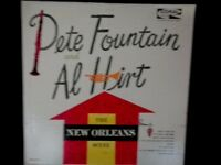 Pete Fountain and Al Hirt The New Orleans Scene Vinyl LP 33 RPM CRL 57419