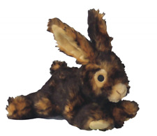 Dog Plush Rabbit Toy Chewers Large with Squeaker Grunts Stuffing Durable