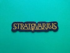 HEAVY METAL PUNK ROCK MUSIC FESTIVAL SEW ON / IRON ON PATCH:- STRATOVARIUS