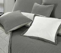 Christian Geometric Modern Black White Grey Bed Throw Pillow Cushion Cover 18x18