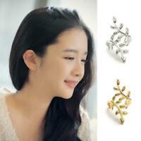 Womens Ear Clip Boho Ear Cuff Stud Crystal Earrings NEW Jewelry Fashion Y0C5