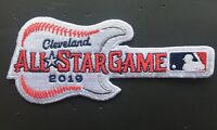 2019 ALL STAR GAME PATCH CLEVELAND INDIANS GUITAR STYLE   PROGRAM PIN IN STORE!
