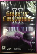 *BRAND NEW* PC Game GALACTIC CIVILIZATIONS II ULTIMATE EDITION ( PC DVD )
