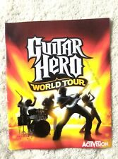 48506 Instruction Booklet - Guitar Hero World Tour - Sony PS3 Playstation 3 (200