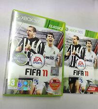FIFA 11 XBOX 360 USATO FUNZIONANTE