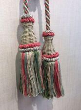 DeClercq Clarence House Cyrano Double Tassel Tie Back Paris France Drape CHDC229