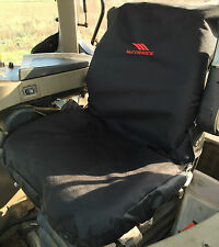 Tractor Seat Cover To Fit McCormick Heavy Duty-Waterproof-Embroidered