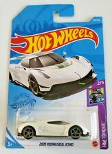 Hot Wheels 2020 Koenigsegg Jesko White #86 86/250 2021 HW Torque 2/5