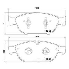 Hella-PAGID 355016031 Front Disc Brake Pads