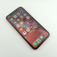 Apple iPhone XR Coral - 64GB - (Unlocked)**Cracked back