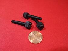 "Nylon Black Plastic Thumb Screw, 10-32 x 1.0"" Length, 13/32"" Head Dia,  200 Pc"