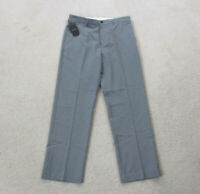 NEW Greg Norman Pants Mens 32 Gray Shark Golf Golfer Golfing Slacks Casual A2