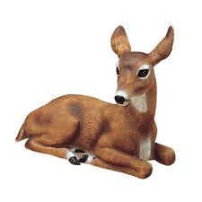 Doe Deer Outdoor Statues Garden Animal Resin Durable Realistic Looking Eyes
