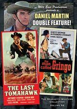 Man Called Gringo & The Last Tomahawk DVD Wild East Spaghetti Western double