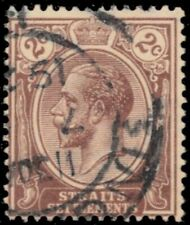 "STRAITS SETTLEMENTS 181 (SG220) - King George V ""1925 Brown"" (pf11369)"