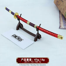 1/5 One Piece Roronoa Zoro Sword katana kitetsu 10inch Genuine authority & STAND
