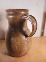 Céramique Vintage 50 Pichet Pansu grès Pyrité DLG La Borne Migeon Signé GRM 2/3