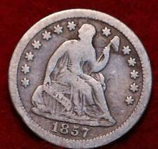 1857-O New Orleans Mint Seated Liberty Silver Half Dime