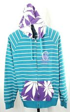 Crooks and Castles Cannabis Corspe Full Zip Hoodie Size XL