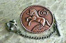 Colt Firearms Tie Tack Pin and Chain Clasp
