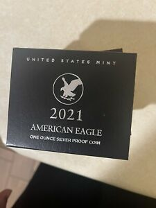 2021-W US MINT American Eagle Type 2 One Ounce Silver Proof Coin *CONFIRMED*