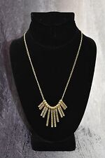 "mark. ""Line Up"" Necklace by AVON  ~ Goldtone ~ FREE SHIPPING!"