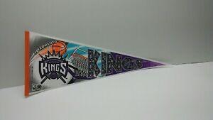Sacramento Kings 1994 Collectible Basketball Pennant NBA California Sports