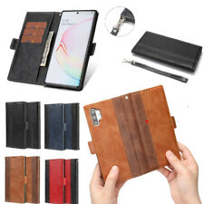 For Samsung Galaxy Note 10 Plus Note 9 Note 8 Magnetic Leather Wallet Case Cover