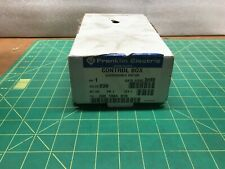 Franklin Electric 1 HP Submersible Motor Control Box part number  280 1084 915