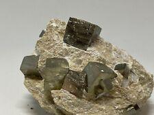 PIRITA - Pyrite - Navajun, La Rioja España - SPAIN MINERAL COLECCION 9x7x6