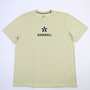 Vanderbilt Commodores Nike Dri-Fit Short Sleeve Shirt Men's New without Tags