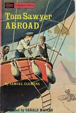 TOM SAWYER ABROAD Samuel Clemens 1965 Hard Cover EXCELLENT