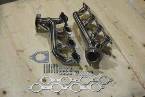 FOR Chevy GMC 4.8L 5.3L V8 Stainless Headers LS1 LS2 LS3 LS6 LS7 LS9 Silverado
